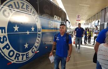 Ainda sem Alisson e Robinho, Cruzeiro viaja com 23 jogadores para o Recife