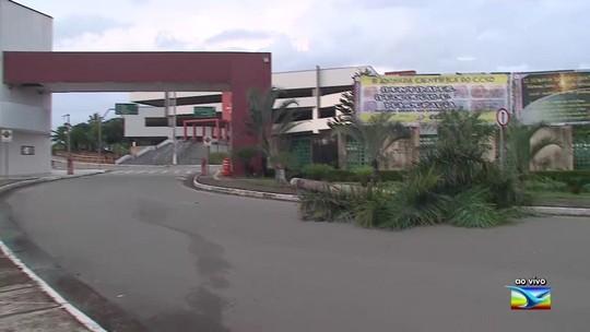 Chuva forte causa estragos no campus da Universidade Federal no Maranhão