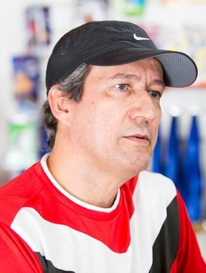 Juca Vasconcelos, ex-presidente do Penedense (Foto: Jonathan Lins / GloboEsporte.com)