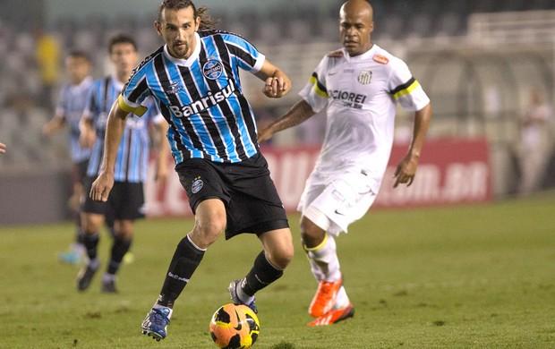Barcos Grêmio e Santos (Foto: Luiz Fernando Menezes / Agência estado)