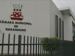 Câmara de Vereadores de Garanhuns (Foto: TV Asa Branca / Reprodução)