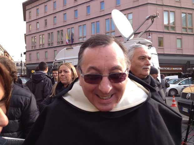 Padre Ludovico Melo. (Foto: Juliana Cardilli / G1)