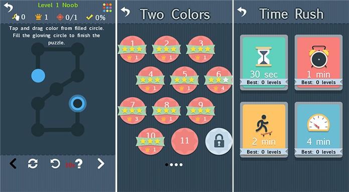 Make Color é um divertido game para Windows Phone onde usuário deve combinar cores (Foto: Divulgação/Windows Phone Store)