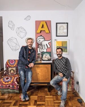 Eduardo Aiello e Alex de Oliveira,do estúdio Montageart (Foto: Deco Cury / Editora Globo)