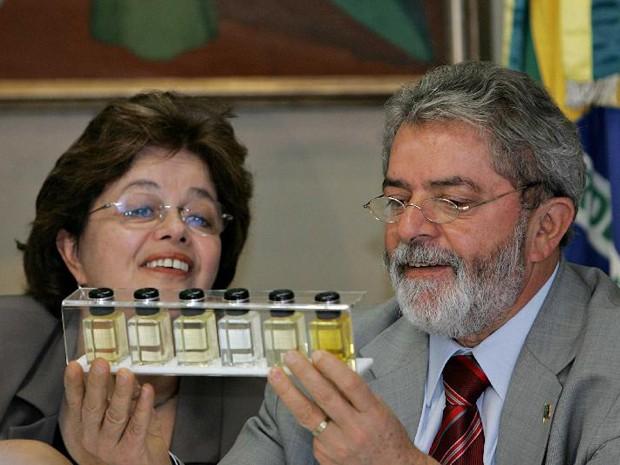 Dilma, então ministra-chefe da Casa Civil, com o ex-presidente Lula (Foto: Roberto Stuckert Filho/PR)