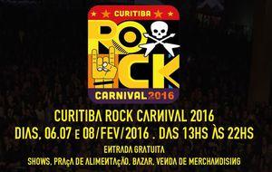 Curitiba tem show de rock durante o Carnaval