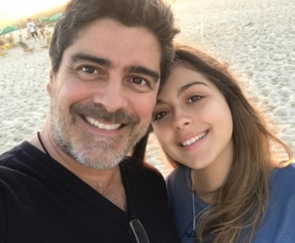 Junno e a filha Luana (Foto: Instagram/Reprodução)