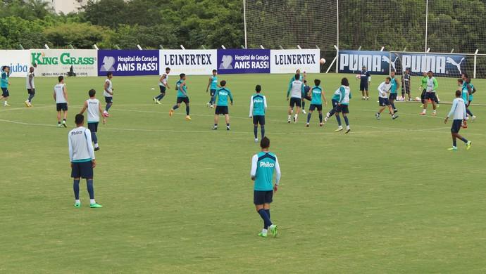 Treino - Goiás (Foto: Fernando Vasconcelos / Globoesporte.com)