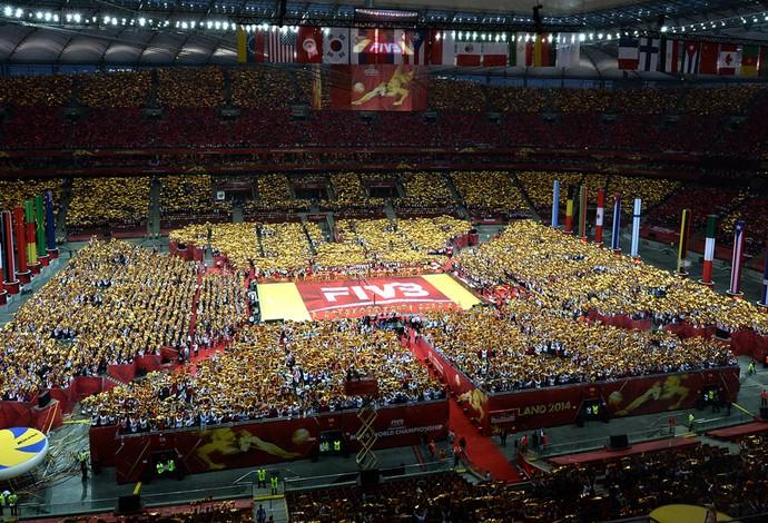 Mundial de vôlei na Polônia (Foto: AFP)