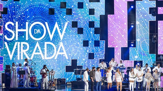 'Show da Virada' anima Réveillon com Luan Santana, Anitta, Ivete Sangalo e mais atrações