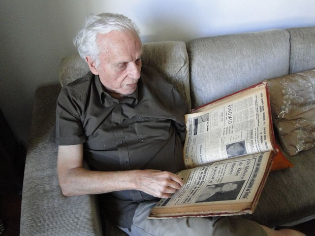 José Maria Rabelo fundou o Binômio ao lado do jornalista Euro Arantes (Foto: Thais Pimentel/G1)