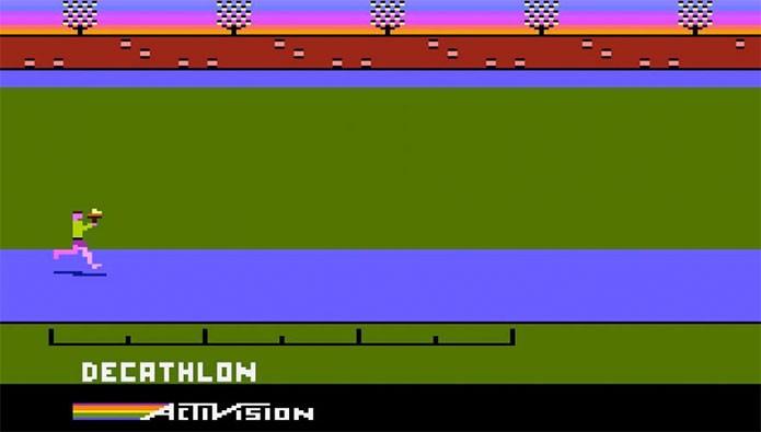 Decathlon, o quebra-controles do Atari (Foto: Reprodução/Atari Archives)