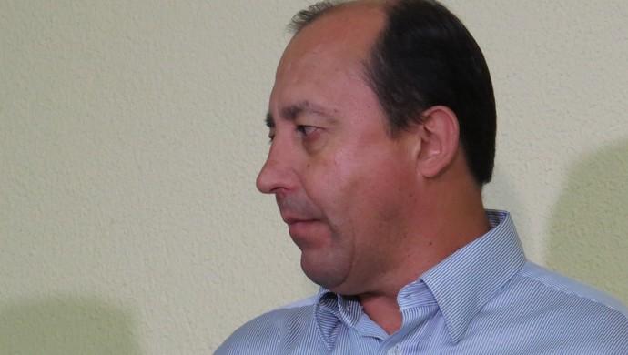 Edson Neguinho Gerente de futebol do Paraná Clube (Foto: Fernando Freire)