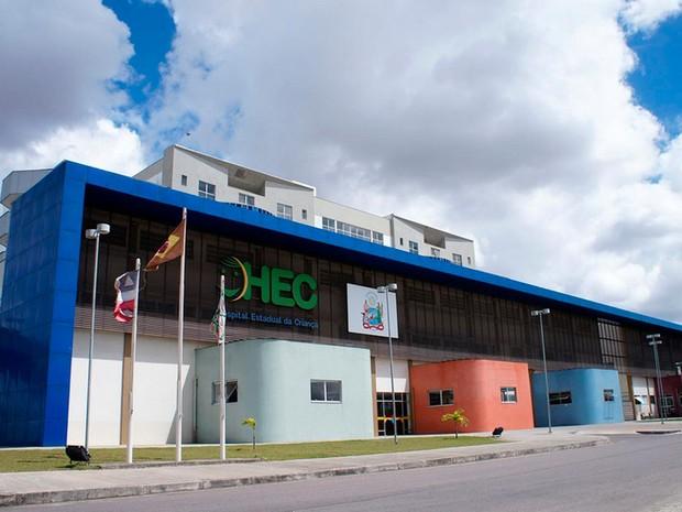Hospital Estadual da Criança (Foto: Divulgação)