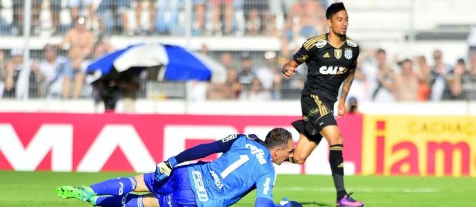 Ponte Preta x Palmeiras Fernando Prass Lucca (Foto: Marcos Ribolli)
