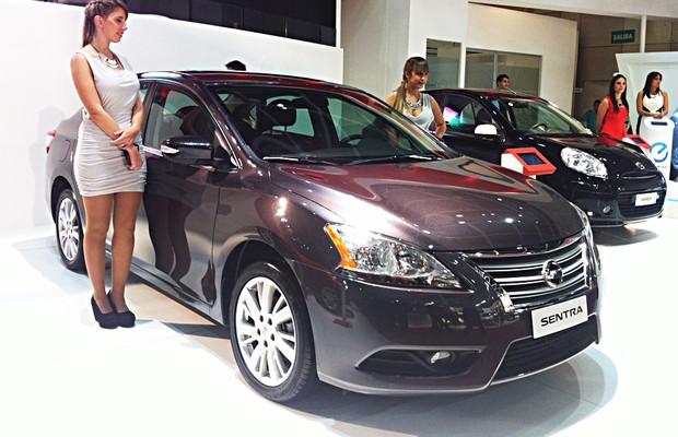 Nissan Sentra (Foto: Ricardo Sant'Ana)