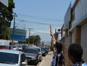 botafogo-pb, torcida, tiradentes, série d (Foto: Phelipe Caldas / Globoesporte.com/pb)