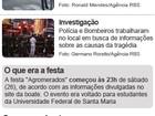 Famílias catarinenses procuram por parentes que estavam em boate