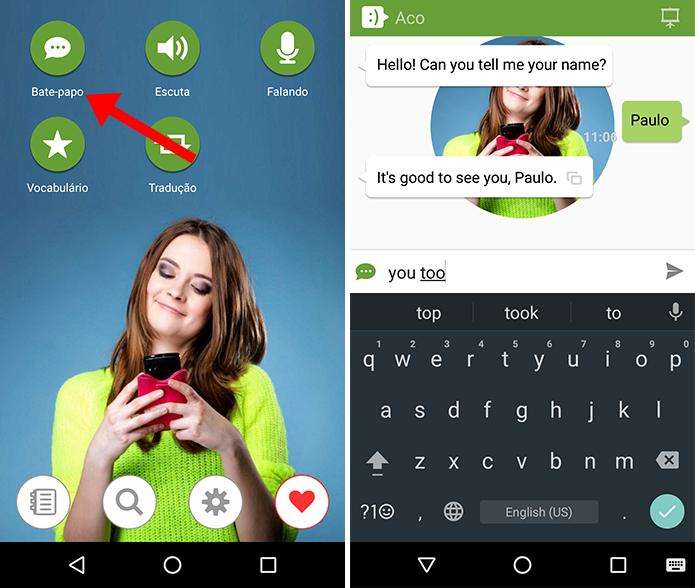 Converse por texto com a inteligência artificial (Foto: Reprodução/Paulo Alves)