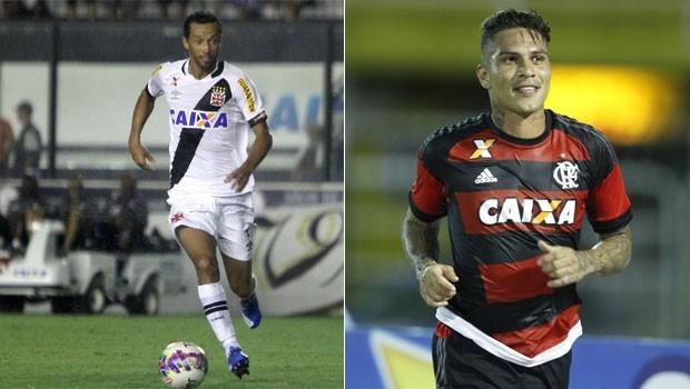 Vasco e Flamengo se enfrentam pela 4ª rodada do Carioca (Foto: Paulo Fernandes/Vasco.com.br/Gilvan de Souza / Flamengo)
