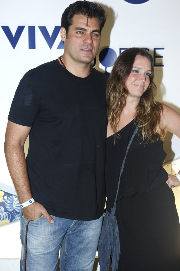 Thiago Lacerda e Vanessa Lóes (Foto: Marcos Serra Lima/ EGO)