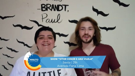Ana Vilela se reúne com amigo Vitor Conor para fazer show, em Londrina