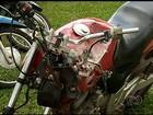 Jovem morre após acidente de moto em avenida de Jataí, GO