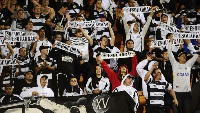 torcida xv de piracicaba torcedores (Foto: Marcos Ribolli / globoesporte.com)