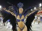 É campeã! Sabrina Sato desfila pela Vila Isabel: 'É dia de comemorar'