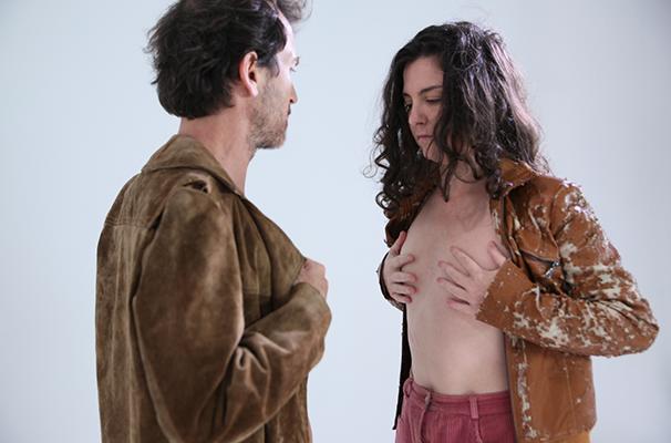 Cristina Flres e Marcelo Olindo em cena do espetáculo (Foto: Divulgação)