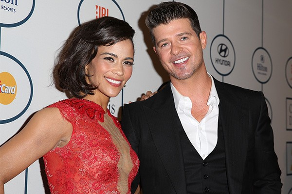 Robin Thicke e Paula Patton (Foto: Getty Images)