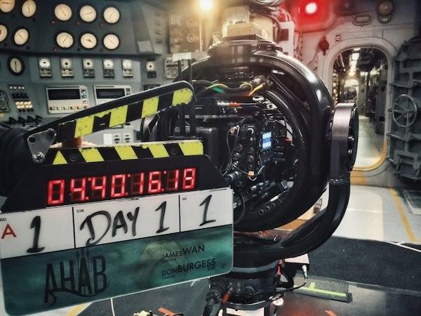 Foto compartilhada pelo diretor James Wang no set de Aquaman (Foto: Twitter)