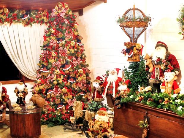 Em um dos cômodos a decoração é de ursos  (Foto: Edgard Cesar/Divulgação)