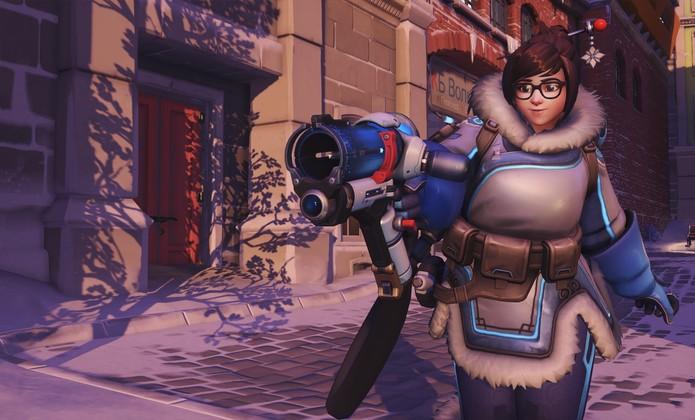 Mei tem habilidades congelantes (Foto: Divulgação/Blizzard)