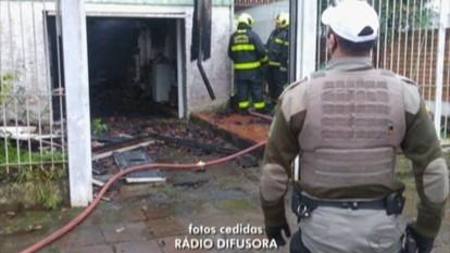 Homem morre em incêndio em Bento Gonçalves, RS