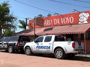 Idosa de 78 anos matou assaltante em São Lourenço do Sul, RS (Foto: Reprodução/RBS TV)