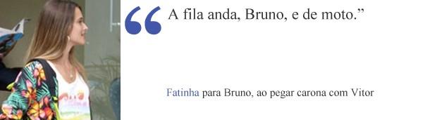 Frase Fatinha (Foto: Malhação/TV Globo)