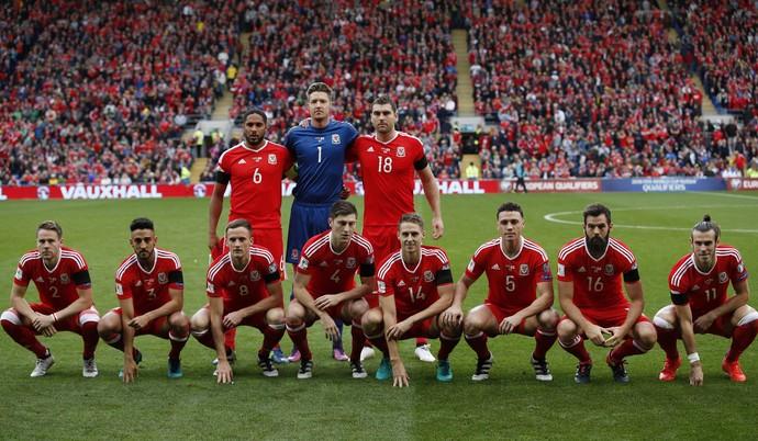 País de Gales posado Geórgia eliminatórias (Foto: Reuters)