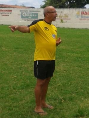 Neto Maradona, técnico do Lucena, Paraíba (Foto: Divulgação)
