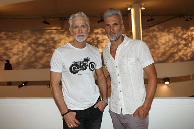 Jorge Gelati e Marcos Luko (Foto: Celso Tavares / Ego)