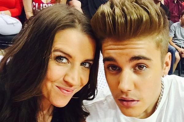 Pattie Mallette e Justin Bieber (Foto: Twitter)