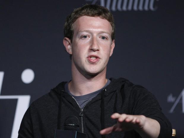Mark Zuckerberg durante evento em Washington (EUA) (Foto: Jonathan Ernst/Reuters)