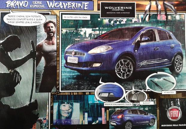 Fiat Bravo edição especial Wolverine estará nas lojas em julho (Foto: Reprodução)