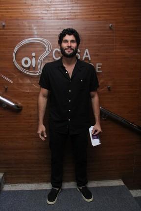 Dudu Azevedo em estreia de peça na Zona Sul do Rio (Foto: Wallace Barbosa/ Ag. News)