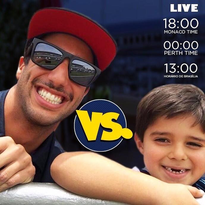 A disputa já tem hora marcada para transmissão ao vivo (Foto: Reprodução/ Twitter)