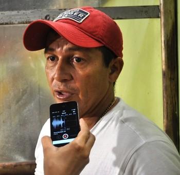 Carlos Cardenas, técnico do Alto Acre (Foto: Duaine Rodrigues)