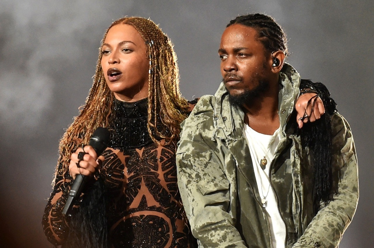 Kendrick Lamar participou da apresentao de Beyonc no BET Awards (Foto: Kevin Winter/BET/Getty Images for BET)
