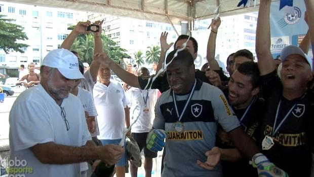 Mauricio Assunção botafogo futebol de areia (Foto: Reprodução)