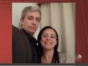 Marido da vítima também foi sequestrado (Foto: Reprodução/TV Sudoeste)