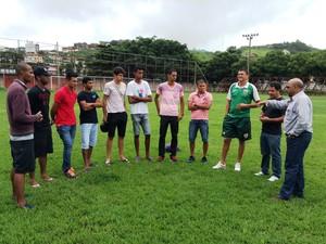 A revelação de jogadores do Novo Esporte no primeiro ano foi lembrada pelo presidente João Chico (Foto: Divulgação / Novo Esporte)